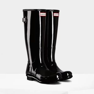 Hunter Original Tall Back Adjustable Rain Boots